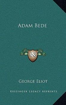 Hardcover Adam Bede Book