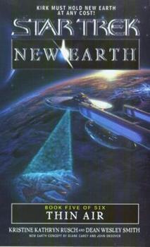 Thin Air (Star Trek: New Earth, Book 5) 067178577X Book Cover