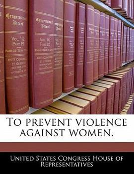 Paperback To Prevent Violence Against Women Book