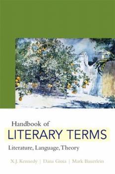 Paperback Handbook of Literary Terms: Literature, Language, Theory Book