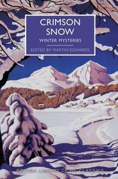 Crimson Snow: Winter Mysteries (Large Print 16pt) 1464206759 Book Cover