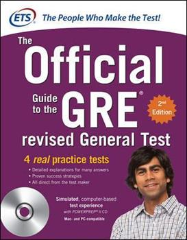 Paperback The Official Guide to the GRE Book
