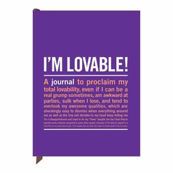 Paperback Knock Knock I'm Loveable! Inner-Truth Journal Book
