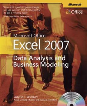 Microsoft Office Excel 2007: Data Analysis and Business Modeling 0735623961 Book Cover