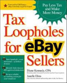 Tax Loopholes for eBay Sellers 0072262427 Book Cover