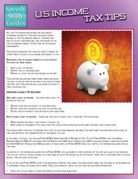 Paperback Us Income Tax Tips (Speedy Study Guide) Book