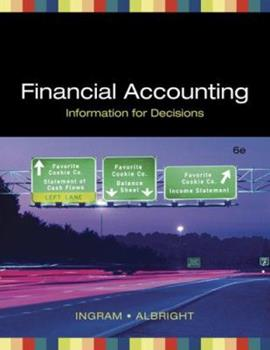 Financial Accounting: Information for Decisions 0324313411 Book Cover