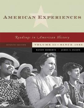 America and Its Peoples: A Mosaic in the Making : From 1865 0321216431 Book Cover