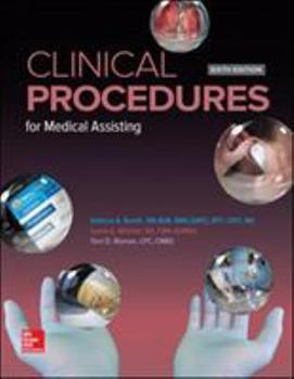 Medical Assisting: Clinical Procedures 1259732002 Book Cover