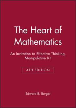 The Heart of Mathematics, Manipulative Kit: An Invitation to Effective Thinking (Key Curriculum Press) 1118371062 Book Cover