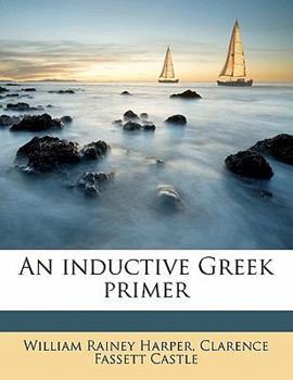 Paperback An Inductive Greek Primer Book