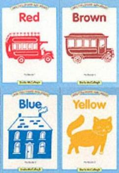 Pre-Readers 1-4 - Red, Yellow, Blue, Brown - Book  of the One, Two, Three and Away! Pre-Readers