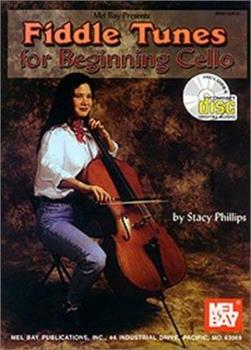 Mel Bay Fiddle Tunes for Beginning Cello Book/Cd Set 0786648295 Book Cover
