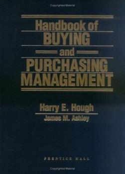 Hardcover Handbook for Buying and Purchasing Management Book