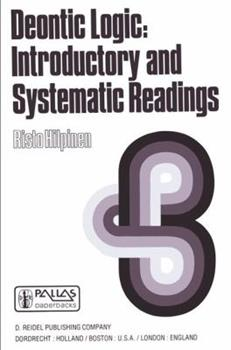 Paperback Deontic Logic: Introductory and Systematic Readings Book