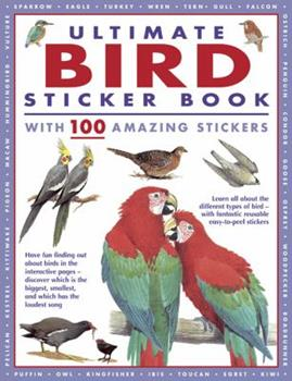 Paperback Ultimate Bird Sticker Book: With 100 Amazing Stickers Book