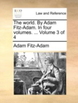 Paperback The World by Adam Fitz-Adam In Book