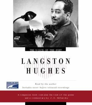 The Voice of the Poet: Langston Hughes - Book  of the Voice of the Poet