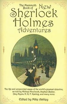 Paperback The Mammoth Book of New Sherlock Holmes Adventures Book