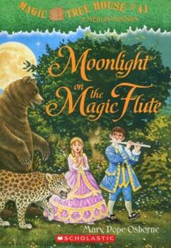 Paperback MOONGLIGHT ON THE MAGIC FLUTE - MAGIC TR Book