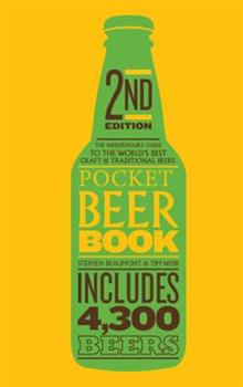 Pocket Beer Book 2015: The Indispensable Guide to the World's Best Craft & Traditional Beers - Includes 4,300 Beers 1845339169 Book Cover