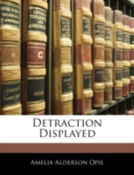 Paperback Detraction Displayed Book