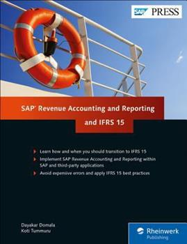 Hardcover SAP Revenue Accounting and Reporting and Ifrs 15 Book