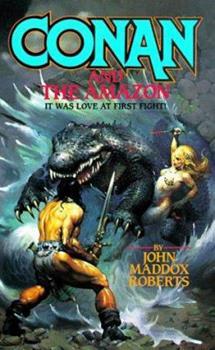 Conan and the Amazon (Conan) - Book  of the Conan the Barbarian