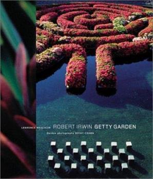 Robert Irwin Getty Garden 0892366206 Book Cover