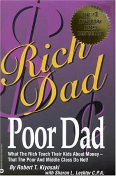 Rich Dad , Poor Dad book cover