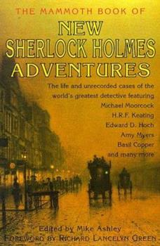 The Mammoth Book of New Sherlock Holmes Adventures 0786704772 Book Cover