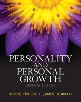 Personality and Personal Growth (6th Edition) 0321011929 Book Cover