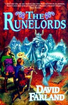 Hardcover The Runelords: The Sum Of All Men (The Runelords, Book 1) Book