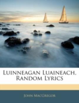 Paperback Luinneagan Luaineach, Random Lyrics Book