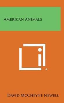 Hardcover American Animals Book