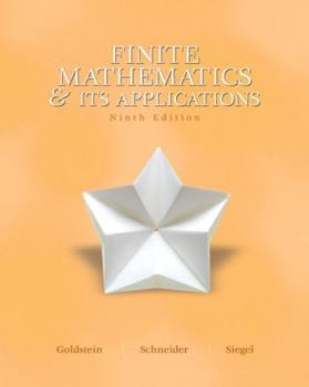 Finite Mathematics & Its Applications with Mymathlab Access Code 013018991X Book Cover