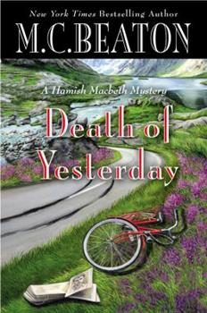 Hardcover Death of Yesterday (A Hamish Macbeth Mystery, 28) Book