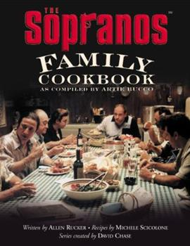 Hardcover The Sopranos Family Cookbook : As Compiled by Artie Bucco Book