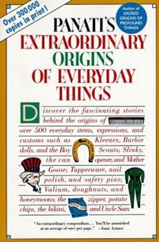 Paperback Extraordinary Origins of Everyday Things Book