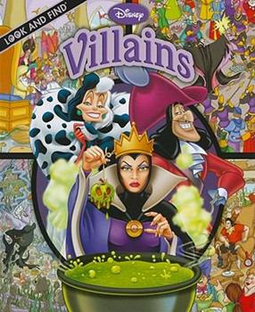 Hardcover Look and Find: Disney Villains Book