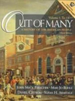 Paperback Out of Many : A History of the American People (to 1877) Book