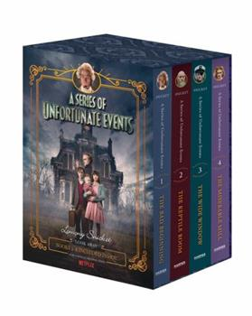 A Series of Unfortunate Events Pack (Books 1-4) (Series of Unfortunate Events, Books 1-4) - Book  of the A Series of Unfortunate Events