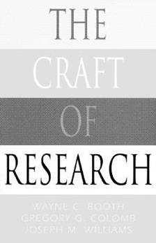 Paperback The Craft of Research Book