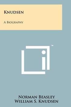 Paperback Knudsen: A Biography Book