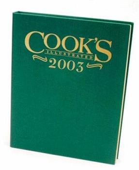 Cook's Illustrated 2003 0936184728 Book Cover