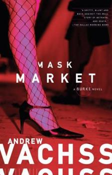 Mask Market (Burke, Book 16) 0307278301 Book Cover