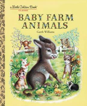 Baby Farm Animals (Little Golden Treasures) - Book  of the Little Golden Books