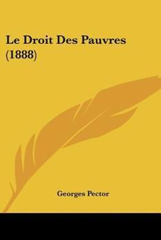 Paperback Le Droit des Pauvres Book