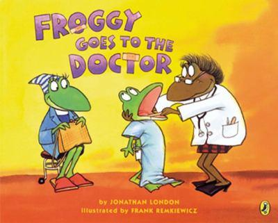 Froggy Goes to the Doctor - Book  of the Froggy