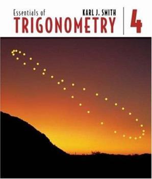 Essentials of Trigonometry 0534012248 Book Cover